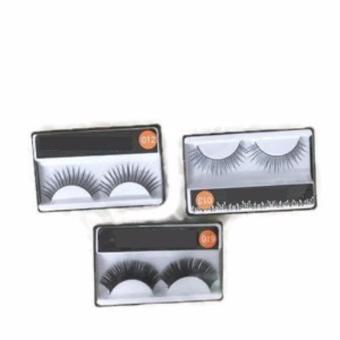 Mesh Random Brand Bulu Mata Palsu Fake Eyelashes - 1 pair