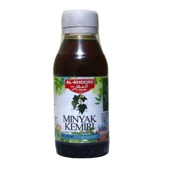 minyak kemiri alkhodry premium original terbaru lazada
