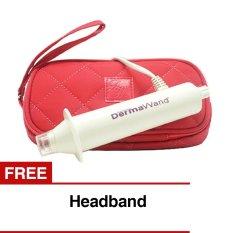 MiraStyle Dermawand Oxygenating Skin Care System - Putih + Gratis Headband