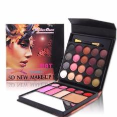 MMS 5D New Make Up Kit All In One Eyeshadow Blush On Powder Lipstick