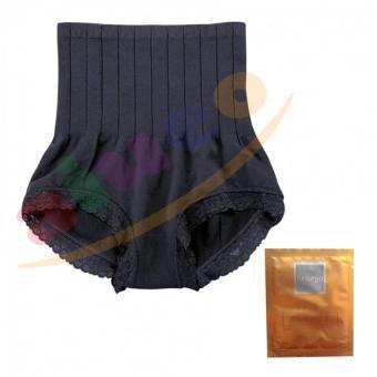 Munafie Slim Pant Celana Korset 75 Gram All Size - Hitam Bundling Naturgo Masker Lumpur 1
