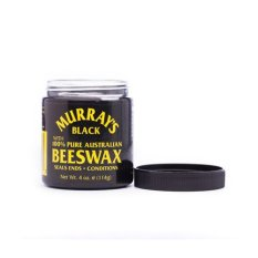 Murray's Pomade Black Beeswax - Gel Rambut Pria - 85gr