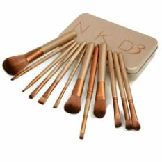 Naked Makeup Brush Set - 12 Pcs