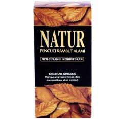 Natur Shampoo Pencuci Rambut Alami Ekstrak Ginseng - 140 ml