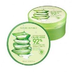 Nature Republic Soothing & Moisture Aloe Vera 92% Soothing Gel - 300mL (ORIGINAL)