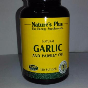 Nature'S Plus Garlic And Parsley Oil isi 180 Softgel
