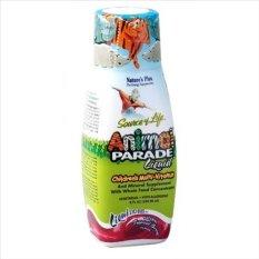 Nature's Plus Animal Parade Liquid Children's Multi-Vitamin Tropical Berry Flavor 236.56 ml 8oz