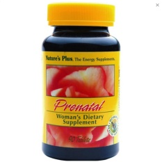 NATURE'S PLUS PRENATAL COMPLEX   Suplemen Wanita Hamil, Menyusui