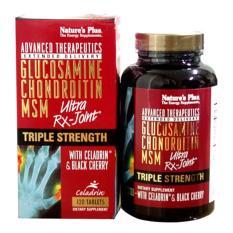 Nature's Plus Ultra RX Joint Triple Strength 120'S - Glucosamine, Nyeri Sendi Lutut, Sakit Lutut, Pelumas Sendi, Oli Sendi, Rematik