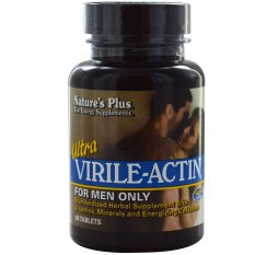 Nature's Plus Ultra Virile-Actin (for Men Only) - 60 Tablets
