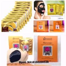Naturgo Hanasui Masker Lumpur - 10 Pcs + Gratis Collagen Crystal Eye Mask -10 Pcs