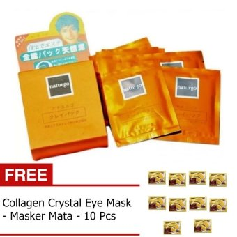 JBS Paket Perawatan Wajah - Naturgo 10 - Masker Mata 10 - 1 Set
