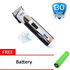 Nova Alat Cukur Rambut Hair Clipper NHC 63 - Hitam Free Battery
