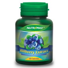 Nutrimax Bilberry 60's
