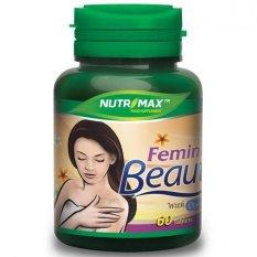Nutrimax Feminine Beauty 60's - Vitamin Kulit, Suplemen Kulit, Anti Aging, Mencegah Keriput, Flek Hitam, Menghilangkan Jerawat