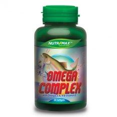 Nutrimax Omega Complex Omega 3-6-9 plus Vitamin E 60's - Vitamin Untuk Jantung, Kolesterol, Hipertensi, Mencegah Autoimune