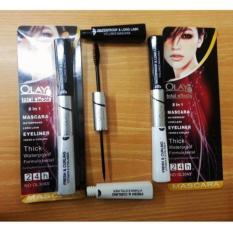 Olay Total Effects Mascara dan Eyeliner Color Black / Hitam - 1Pc