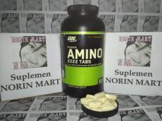 On Optimum Nutrition Amino 2222 100 Tablet / 100 Tabs / 100tablet / 100tabs / Eceran / Keteng / Repack / Suplemen Fitnes / Protein / Gym / Fitnes / Otot / Susu / Amino2222 / No / Superior Amino