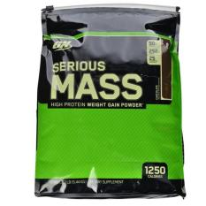 Optimum Nutrition ON Serious Mass Gainer Chocolate 12 LB