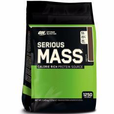 Optimum Nutrition Serious Mass 12 lbs Coklat