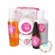 Paket Cream CR Pink Original 5 in 1