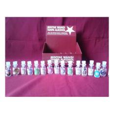 parfums parfum oles non alkohol 3ml grosir botol tester (order per 20pc)