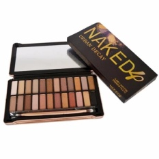 Parkinson Urban Decay Naked 4 Eyeshadow - Professional 24 Warna Eyeshadow Makeup Pallete Kit N4