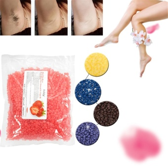 Pearl Hard Wax Beans Brazilian Granules Hot Film Wax Bean Hair Removal Wax - intl