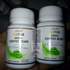 Pelangsing Herbal Hendel Exitox Green Coffee Bean Extract 500mg
