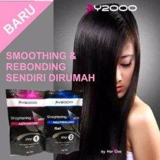 Prime Y2000 Obat Pelurus Rambut Self Hair Straightening Gel Smoothing - Rebonding