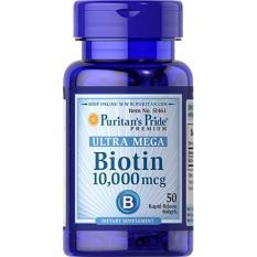 Puritan's Pride Ultra Mega Biotin 10,000 mcg isi 50