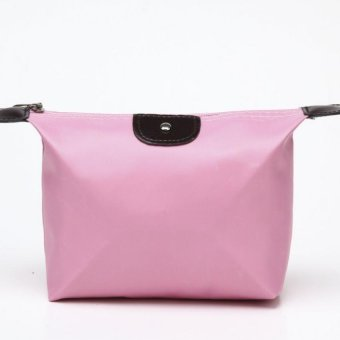 Quina Cosmetic Pouch Tempat Make Up Pink Baby