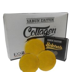 Sabun Collagen Zaitun Plus Collagen 3 Pcs