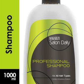 Makarizo Professional Salon Daily Professional Shampoo Pump Bottle 1000 ml