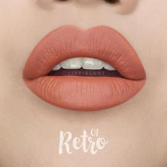 Silky Girl Matte Junkie Lip Cream - 01 Retro