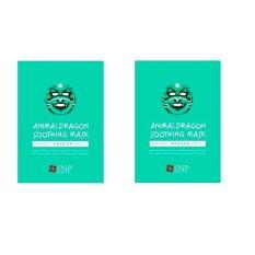 SNP Animal Dragon Soothing Mask - 2 Pcs