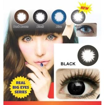 Eyezone Soft Lens Eye Zone Belle Eyes Made In Korea Black Hitam Free . Source ·