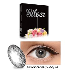 Softlens X2 Ice Cloudy Gray