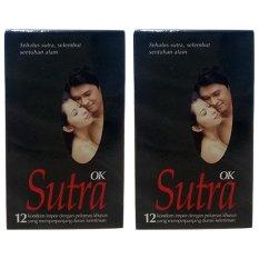 Sutra Kondom Ok Hitam - Isi 12 - 2 x