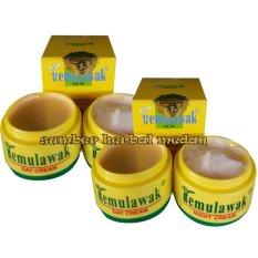 Temulawak Beauty Whitening Cream Siang Malam Original Hologam Emas Super 50gr - 2Kotak