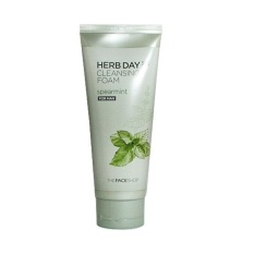 The Face Shop Herb Day 365 Cleansing Foam 170ML - Spearmint - For Man