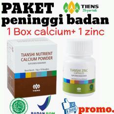 TIENS PENINGGI BADAN Nutrient Hight Calcium Powder dan Zinc