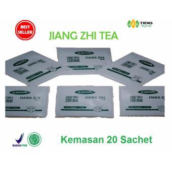 Tiens Teh Pelangsing Jiang Zhi Tea - Paket Promo Banting Harga [20 Sachet] +