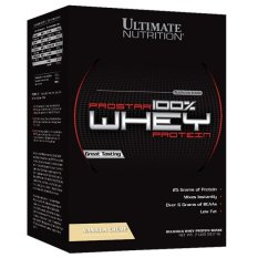 Ultimate Nutrition Prostar 100% Whey Protein - 2 lbs, Vanilla Creme