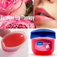Vaseline Lip Therapy Original 100% USA Pocket Size 7g - 0.25oz - Rosy Lips