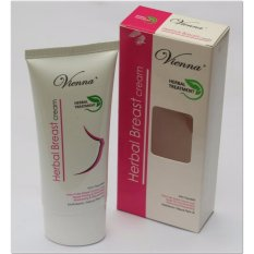 Vienna Breast Cream BPOM - Cream Payudara Herbal - 80ml / 1Pcs