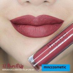 Wardah Exclusive Matte Lip Cream No.12 Plum It Up
