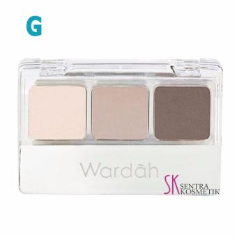 Wardah EyeShadow - G