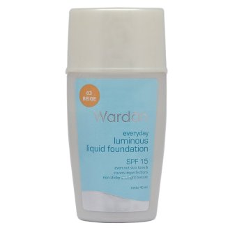 Wardah Luminous Liquid Foundation - Beige | Lazada Indonesia