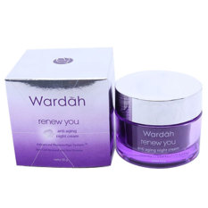 Wardah Renew You Night Cream Anti Aging 30 gr